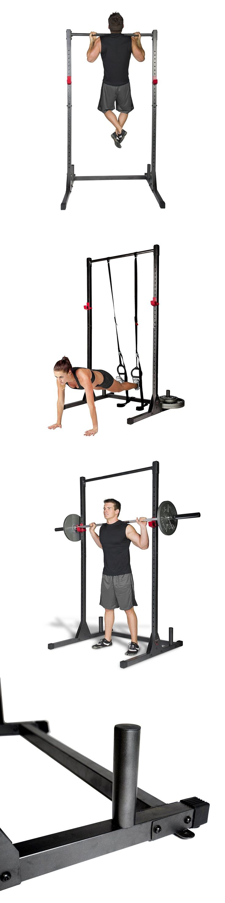 Pull Up Bars 179816: Power Tower Rack Exercise Stand Free Standing Pull Up Bar Home Gym Cap Strength -> BUY IT NOW ONLY: $85.01 on eBay!