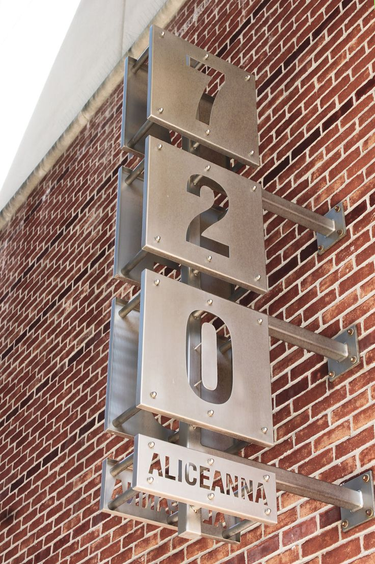 714 best images about signage on pinterest for Exterior office signs