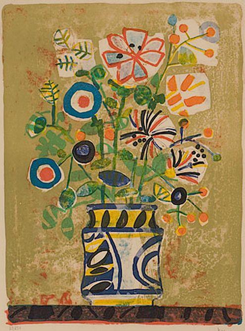 Paul Aizpiri  #flower #painting