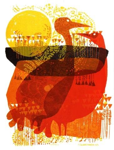 Print by David Weidman: Duo Inspiration, Graduation Inspiration, Posters Illustrations, David Weidman, Motivation Posters, Mixed Media Illustrations, Colour Layered, Art Illustration, Styliz Illustrations