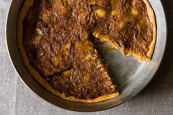 9 Main Course-Worthy Savory Tarts and Galettes on Food52  These are mostly vegetarian and unique.