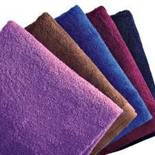 The No. 1 Bleach Proof Nail Salon towels in North America are Black & Color Magic.  #towels #nailsalontowels