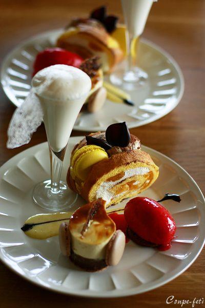 デザート盛り : coupe-feti