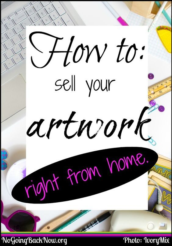 A list of companies to sell your art from home! #graphic #printondemand #makemoneyonline