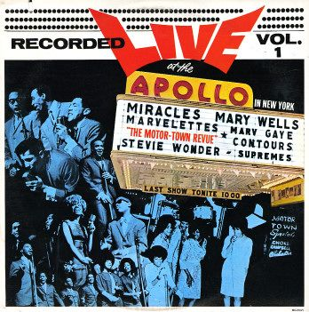 Various: Motortown Revue Vol 1 – Recorded Live At The Apollo