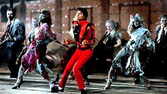 Discos que se convirtieron en películas - Thriller