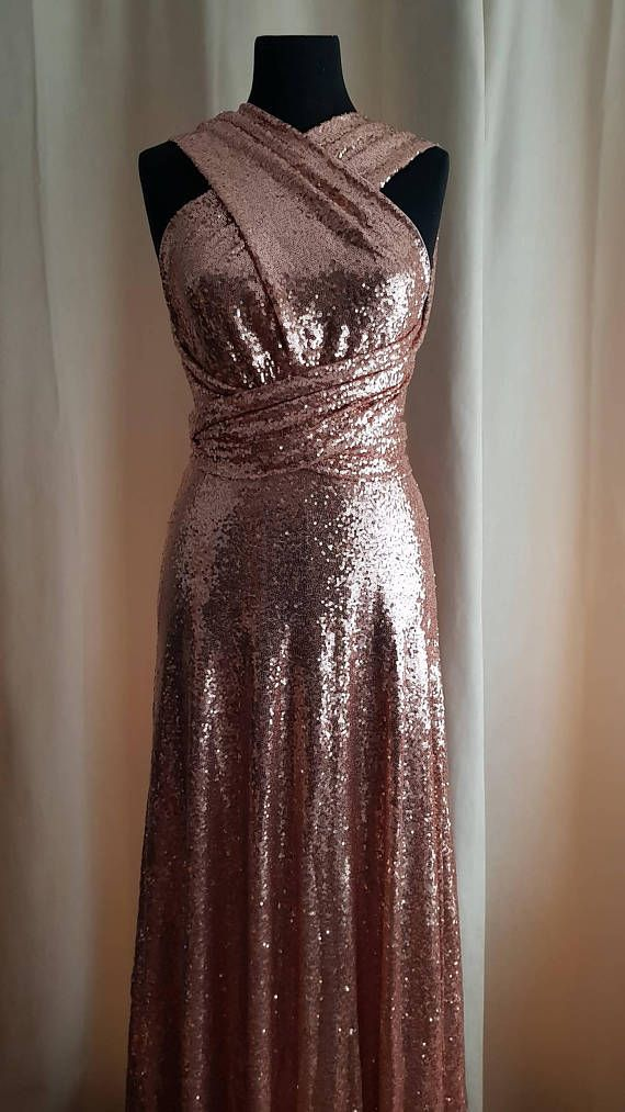 70a0a968175 Convertible Sequin Dress in 2019