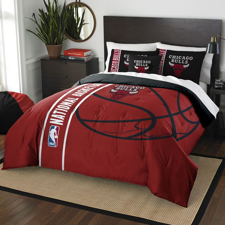 Chicago Bulls Full Comforter Set That I Want To Get For My Son.
