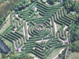 Sunshine Coast - attraction - Bellingham Maze - We could get lost here. #airnzsunshine