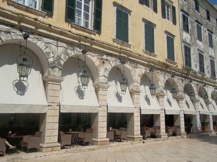 Liston in Corfu - Λιστόν στην Κέρκυρα http://www.infocorfu.gr/liston.html