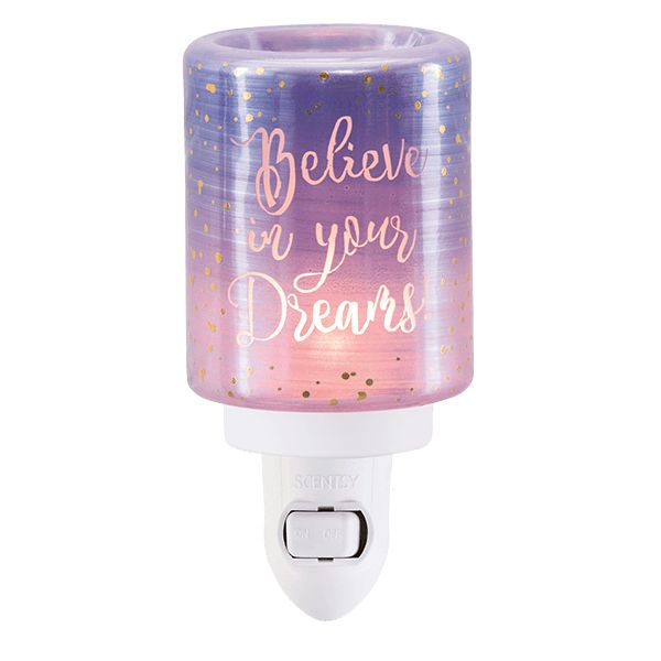 BELIEVE IN YOUR DREAMS| Flameless Electric Candle Warmers for Scented Wax | Scentsy Warmers|     *INDEPENDENT SCENTSY CONSULTANT