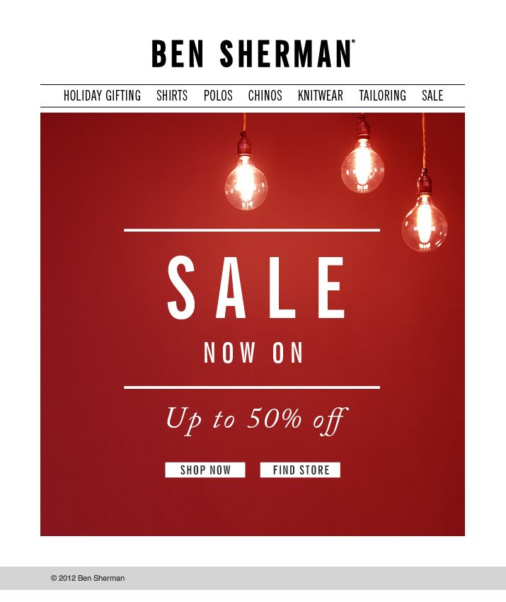 #sale #email #newsletter
