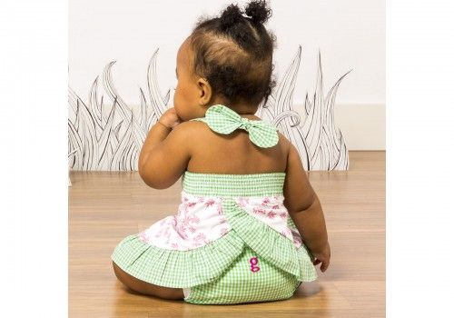 Culotte little gPants gDiapers Gingham Girl