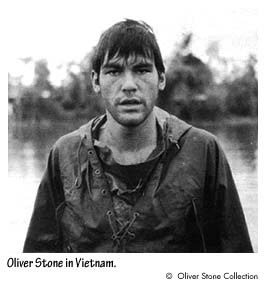 Oliver Stone enlisted in the United States Army in September 1967, requesting combat duty in Vietnam. He fought with the 25th Infantry Division, then with the First Cavalry Division, earning a Bronze Star and a Purple Heart with an Oak Leaf Cluster before his discharge in 1968 after 15 months.