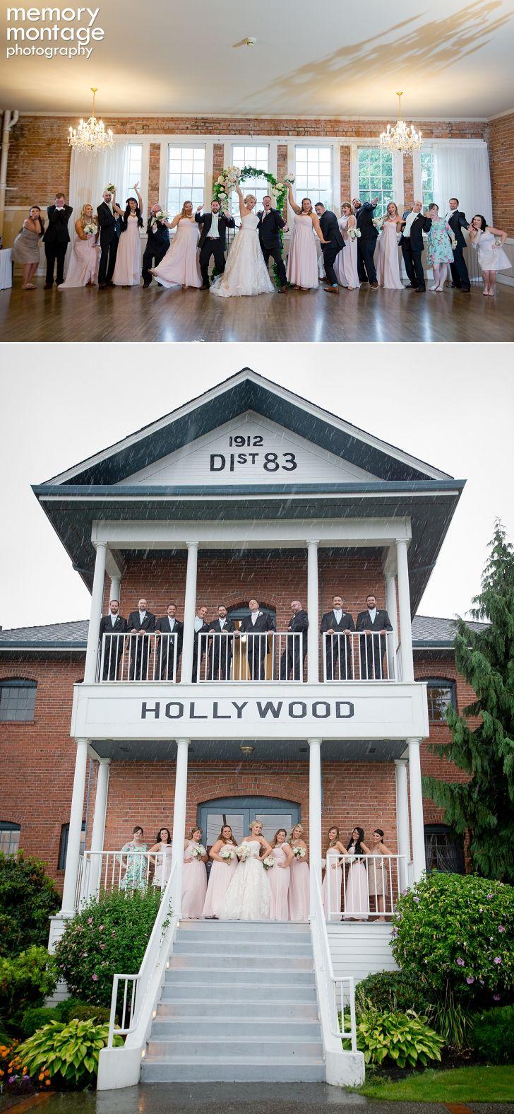 Hollywood Schoolhouse Wedding, Woodinville, WA, Seattle Wedding Photography, www.memorymp.com, #memorymontagephotography, bride and groom, blush wedding, bridal party, Memory Montage Photography