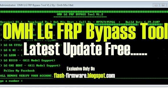 DownloadOMH LG FRP Bypass Tool Feature: Lg FRP Bypass File