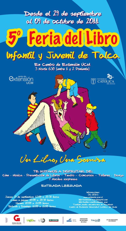 Feria del Libro Infantil y Juvenil de la Universidad Católica del Maule