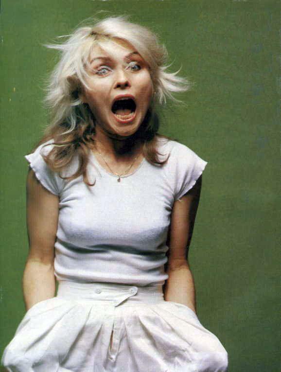 Debbie Harry. As Blondie.