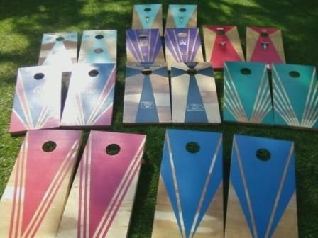 corn hole board designs - Cornhole Design Ideas