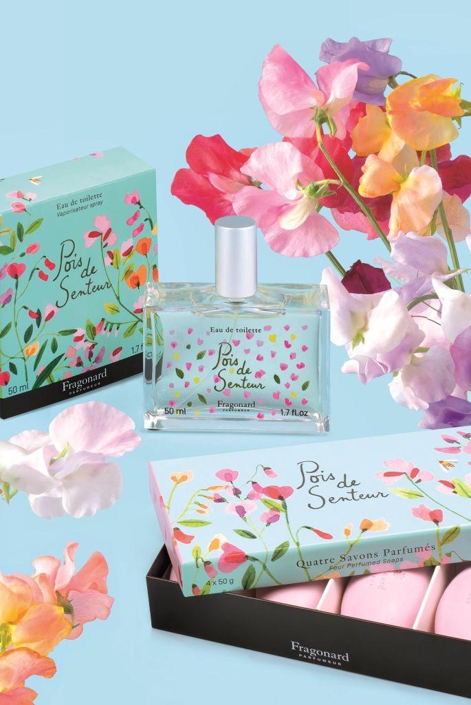 Eau de toilette Pois de senteur, Sweet Pea Fragonard PARFUMEUR #Parfum #Perfume #Fragonard