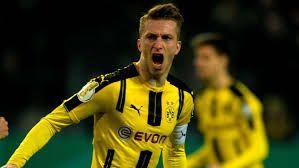 Borussia Dortmund 1 - 1 Hertha Berlin (PEN: 3-2)Competition: DFB PokalDate: 8 February 2017Stadium: Signal-Iduna-Park (Dortmund)Referee: D. AytekinGoals: Borussia Dortmund [Marco Reus]Goals: Hertha Berlin [Salomon Kalou]