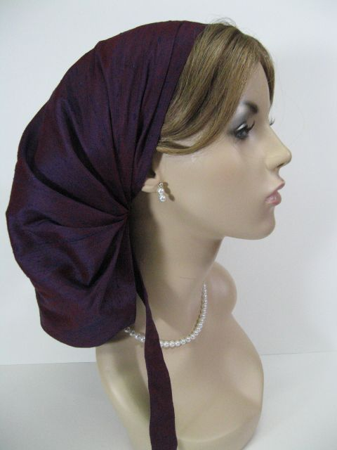hair snoods with ties - Distinctive Hair Coverings: Modest ...