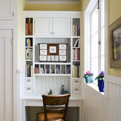 1000 images about built in desks on pinterest for Built in kitchen desks ideas