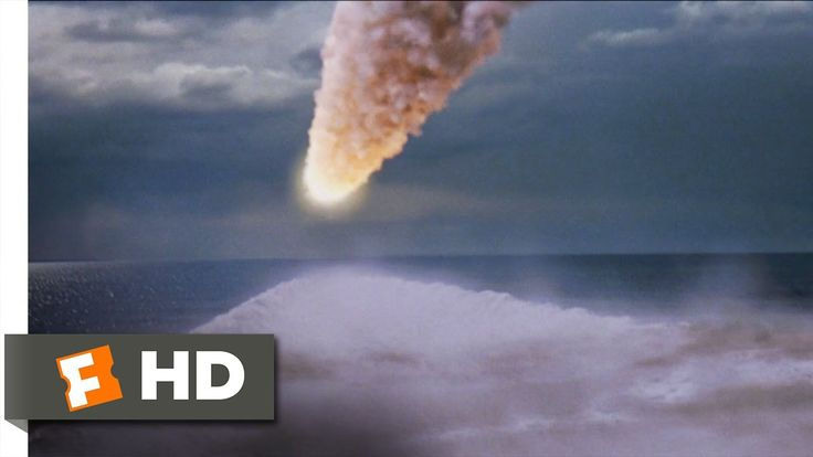 "1 of my biggest fears ""Meteor strikes in ocean generating a massive Tsunami""  Deep Impact (8/10) Movie CLIP - The Comet Hits Earth (1998) HD"