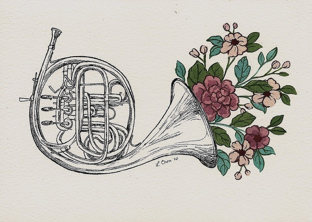 "Louise Chen - Flower Everything ""Trumpet"""