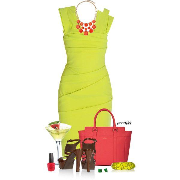 Gorgeous Neon Dress