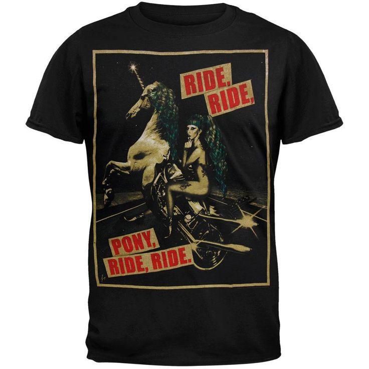 Lady Gaga - Pony Ride 2013 Tour Soft T-Shirt