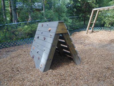 Make a climbing wall.