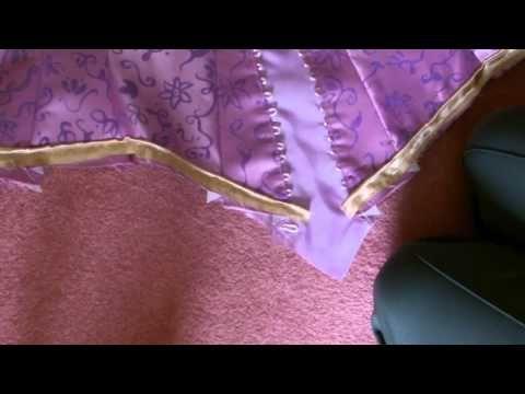 Disney Rapunzel Costume Tutorial Part 3 Floaty Sleeves