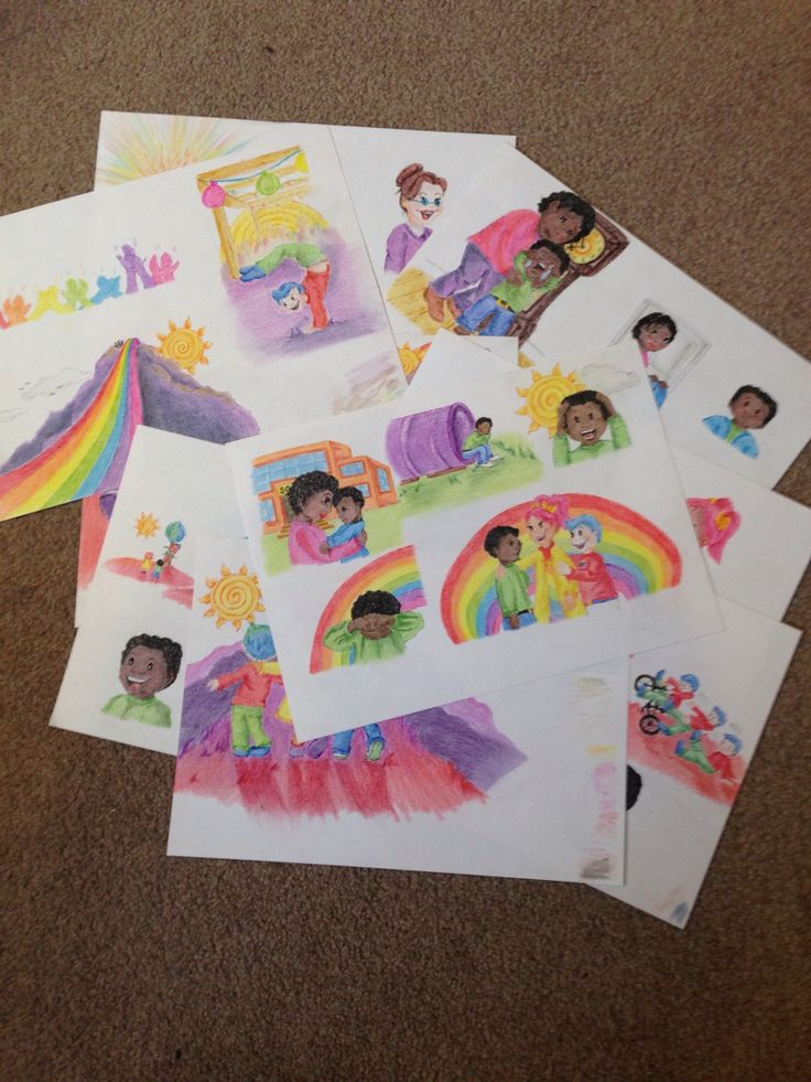 Phase 3 complete for the younger readers version of The Secret in the Rainbow. All pictures now in full colour. Fingers are feeling a little battered, but I'm thrilled they are all complete. Next phase is to scan these onto the computer, begin enhancing and getting them book ready! Watch this space....