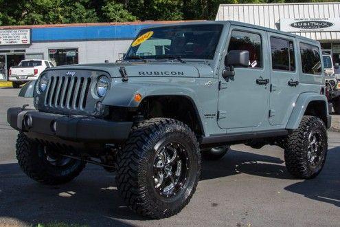 Custom Jeep Wrangler Rubicon Unlimited for Sale Anvil