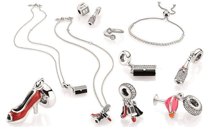 Ciondoli Fashion Pandora: borse, scarpe, rossetto, drink - https://www.beautydea.it/ciondoli-fashion-pandora/ - Qual è il miglior modo di scintillare durante una serata? Basta indossare i charm Pandora super fashion!