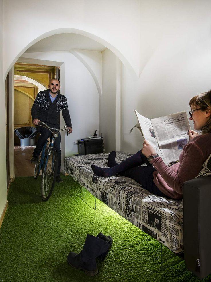 In bici @AppartamentoLAGO Torino Venaria #IDEeA