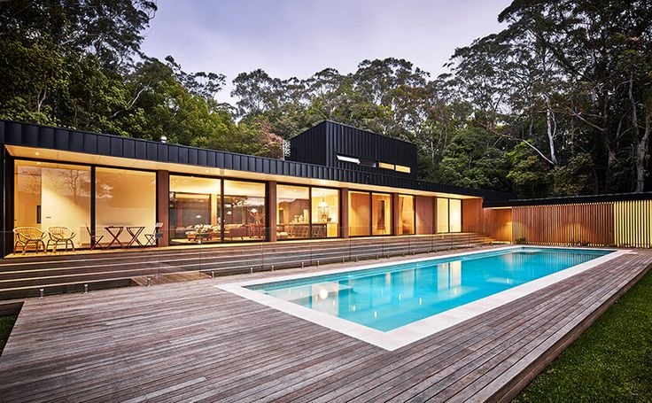 Modular home in Berry, NSW. Find out more here http://modscape.com.au/projects/berry/
