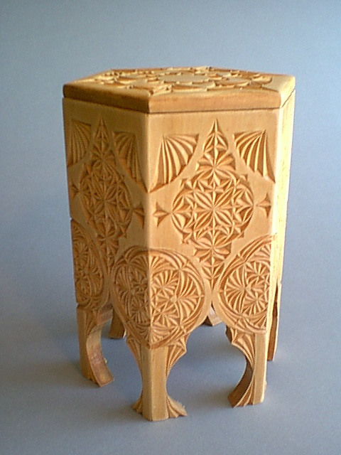 Chip carved box by kathy vinson my art work pinterest