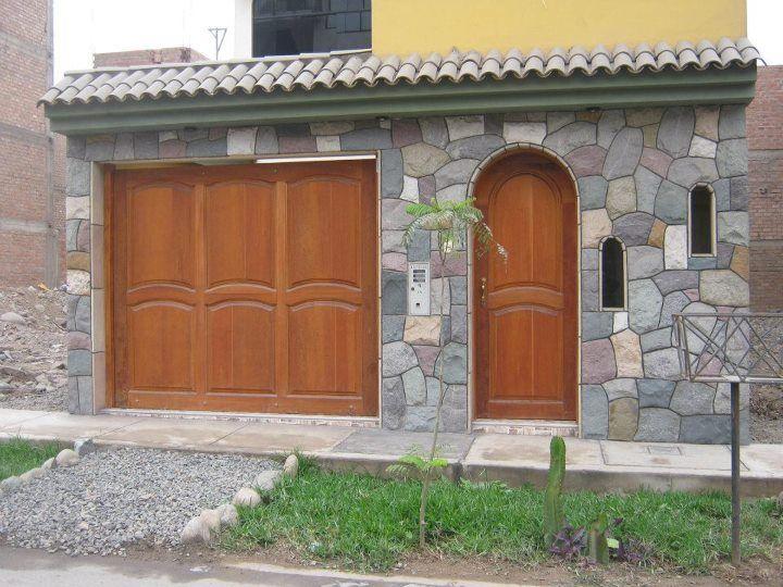 Best 25 bardas para casas ideas on pinterest - Piedra para fachadas de casas ...