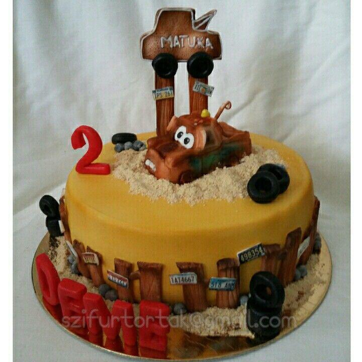 Tow Mater cake #szifurtortak