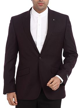 Raymond is a well known brand when it comes to exclusives garment. It proudly introduces this suit as a part of its Formal Office Wear collection. This dark colored suit looks absolutely trendy when you wear it on a light colored full sleeve shirt. It is made up of poly viscose which ensures that your suit remains durable and wrinkle-free. It will enhance your personality and will boost your confidence level too. This contemporary fit suit is a must have item for your office collection.