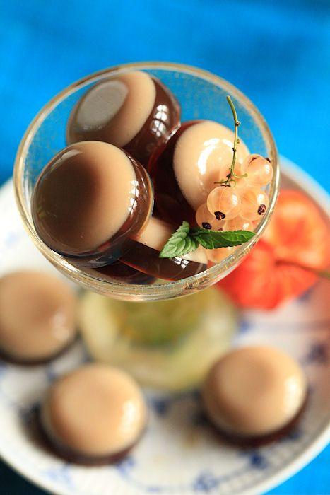 黒糖ジュレ: Muscovado jelly