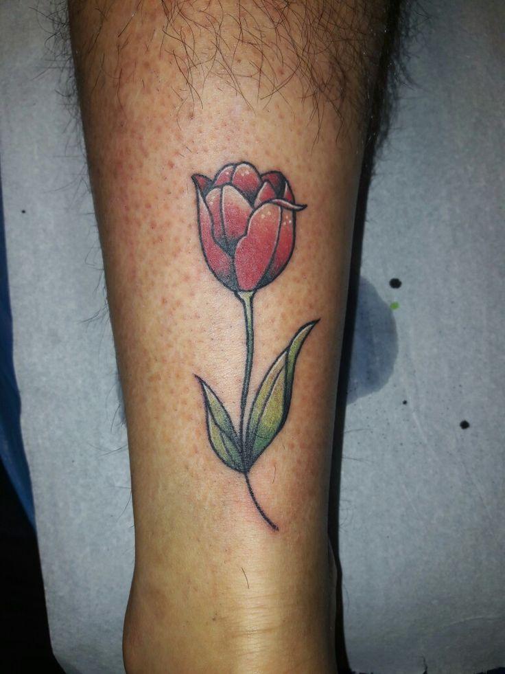 Tulip tattoo 🌷