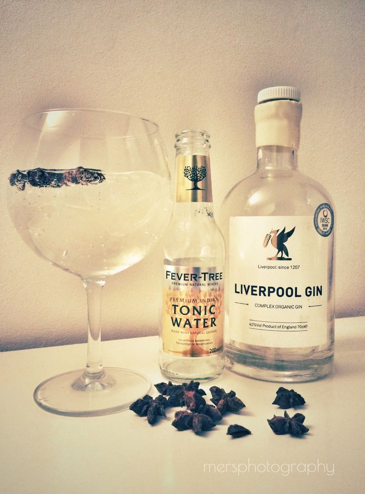 Gin Tonic Time! Liverpool Gin - The InGINious Organic Spirit