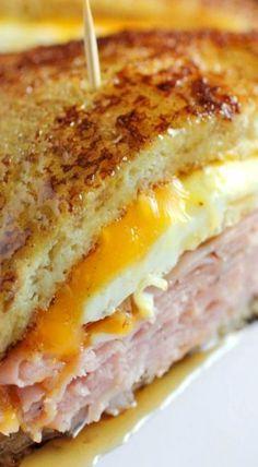 Je n'aime pas Toast français sandwich au fromage grillé