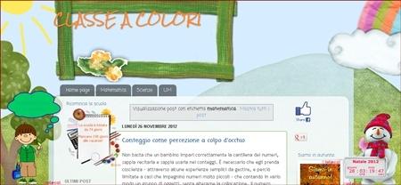 Schede didattiche per la scuola primaria in un blog: Maestra di tutto un pò
