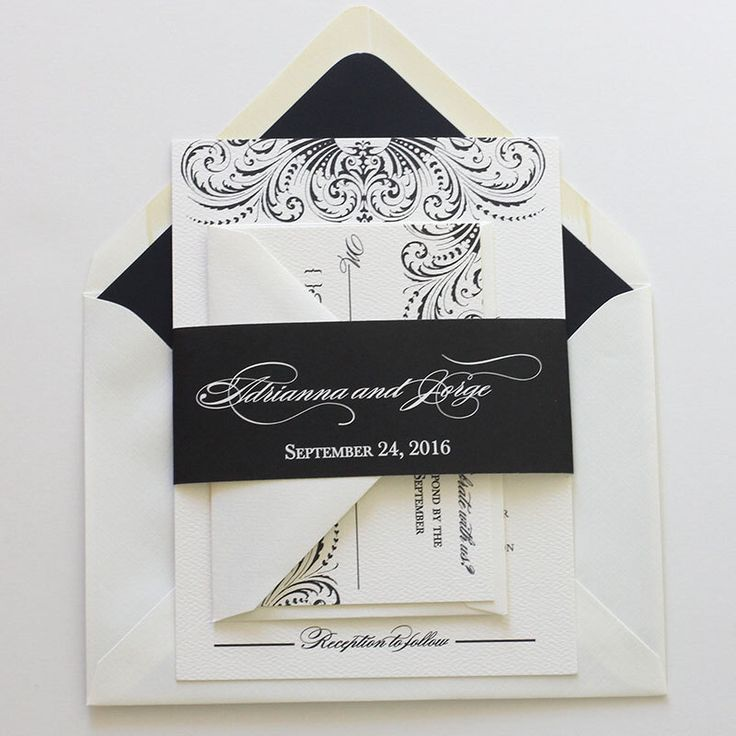 Black Wedding Invitation, Sophisticated Vintage Wedding Invitation, Script Formal Wedding Invitation - Sample  (Free Shipping) by blushpaperie on Etsy https://www.etsy.com/listing/207523484/black-wedding-invitation-sophisticated