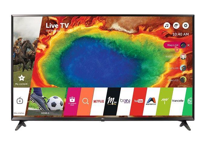 Soldes Téléviseur Rue du Commerce - LG TV LED 164cm 65UJ630V