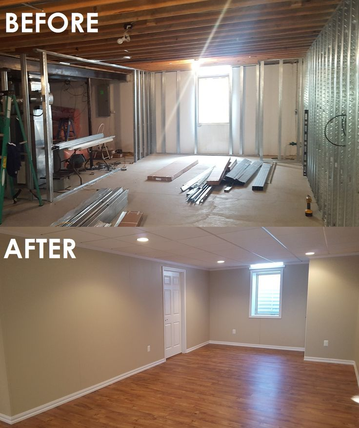 17 Best Basement Before & After Images On Pinterest